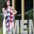 Пашмины 2016 Сша Мода Классический Плед Шарфы Бахромой Шали Шарф Все Вокруг Бандана Пончо И Накидки Для Женщин