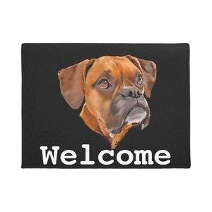 Image 1 - Boxer Dog Doormat Home Decoration Entry Non slip Door Mat Rubber Washable Floor