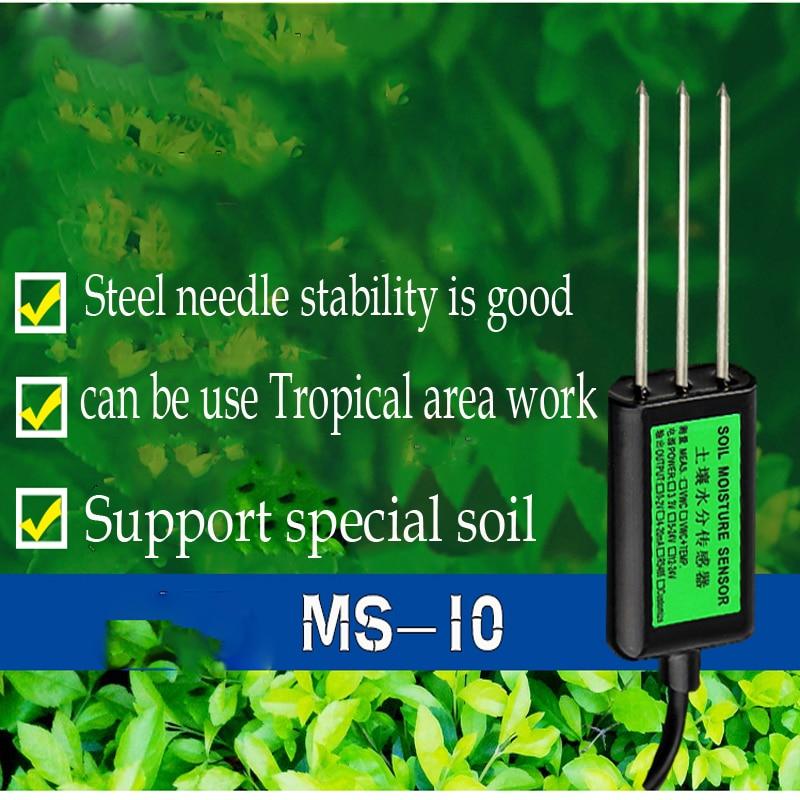 все цены на Soil Moisture detector ,Industrial soil moisture sensor,output 0-2V ,4-20mA without temperature measurement ,moisture tester