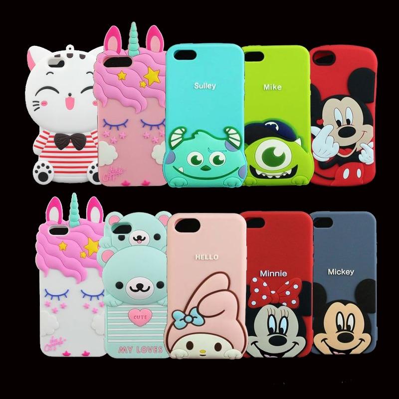 Case For iphone 5 5s 5C 6 6S 6 Plus 7 8 7 Plus Case 3D
