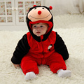 Fashion high quality baby outerwear warm coat autumn winter flannel baby fur snowsuit (600-700g)