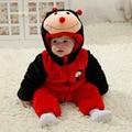 Moda de alta qualidade bebê outerwear casaco quente outono inverno flanela bebê snowsuit pele (600-700g)