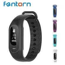 Fentorn Новый B15P Bluetooth Смарт Полосы IP67 Водонепроницаемый Поддержка Нажмите сообщение Сердечного Ритма Артериального Давления Умный Браслет