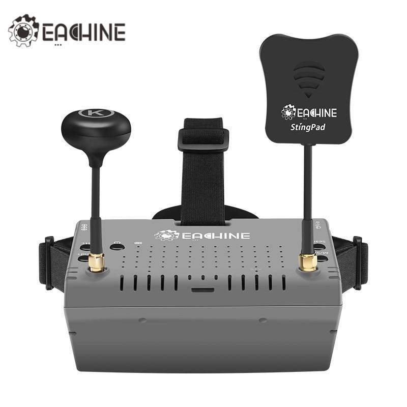 2018 Nouvelle Version Eachine EV900 5.8G 40CH HDMI AR VR FPV lunettes 5 Pouce 1920*1080 HD Affichage Intégré Batterie Pour RC Racing Dron