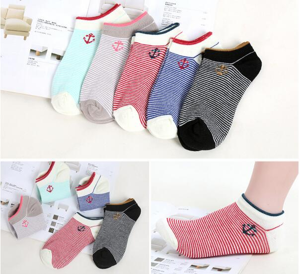 2018 4Pairs New glbk2AAHs Women Cotton Spring Sweat Uptake Socks Breathable Casual Socks Free Shipping On Sale