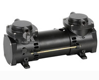DC 12v Micro Brushless Diaphragm Vacuum Pump Double stage Oilless Mini Air Pump