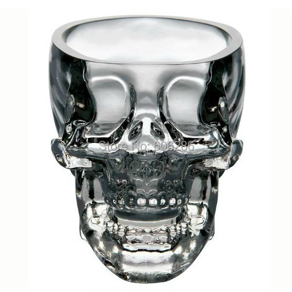 60pcs/Lot <font><b>mini</b></font> <font><b>crystal</b></font> <font><b>head</b></font> <font><b>vodka</b></font> <font><b>skull</b></font> <font><b>cup</b></font> <font><b>Shot</b></font> <font><b>Glass</b></font> Whiskey drink Ware For Home Bar night club <font><b>cup</b></font> Party Supplies