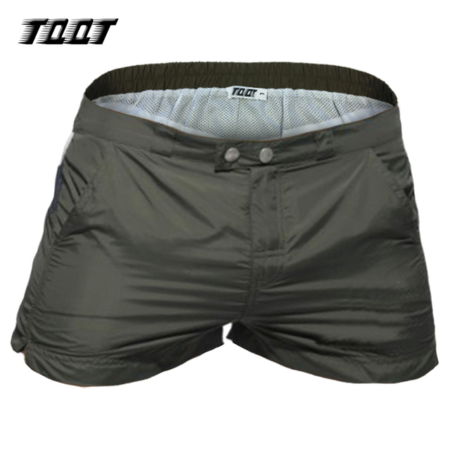 Men Shorts Panelled Cargo Low Waist Fitness Patchwork
