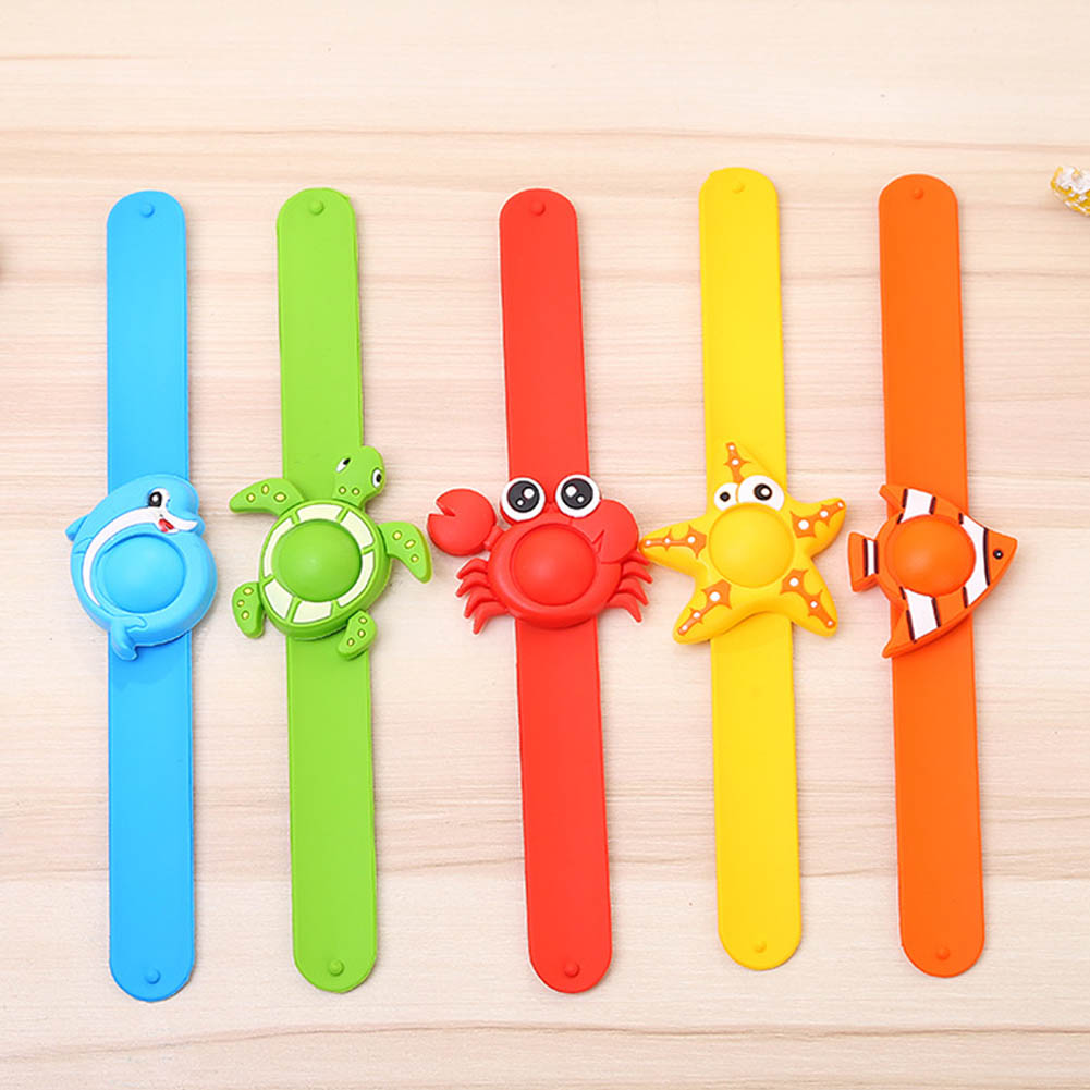 Indoor Cartoon Silicone Natural Essential Oil Anti Mosquito Repellent Bracelets  Baby Infant Children Hand Ring
