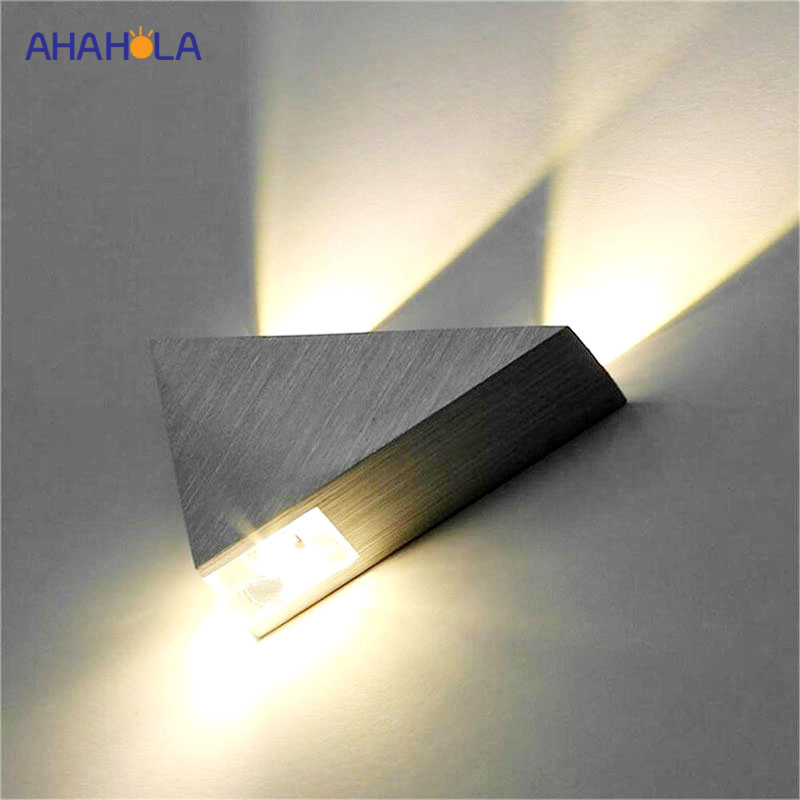 White Simple Modern Led Wall Lamp Home Lighting Living Room Wandlamp Sconce Led Wall Light Fixtures Stair Lights Lampara Pared Led Lamps Lights & Lighting