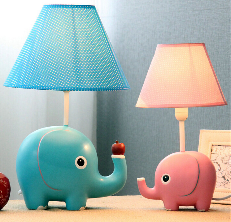 BIG SIZE very cute elephant table lamp Kid room lovely desk light bedroom  lighting(China - Compare Prices On Big Desk Lamp- Online Shopping/Buy Low Price Big
