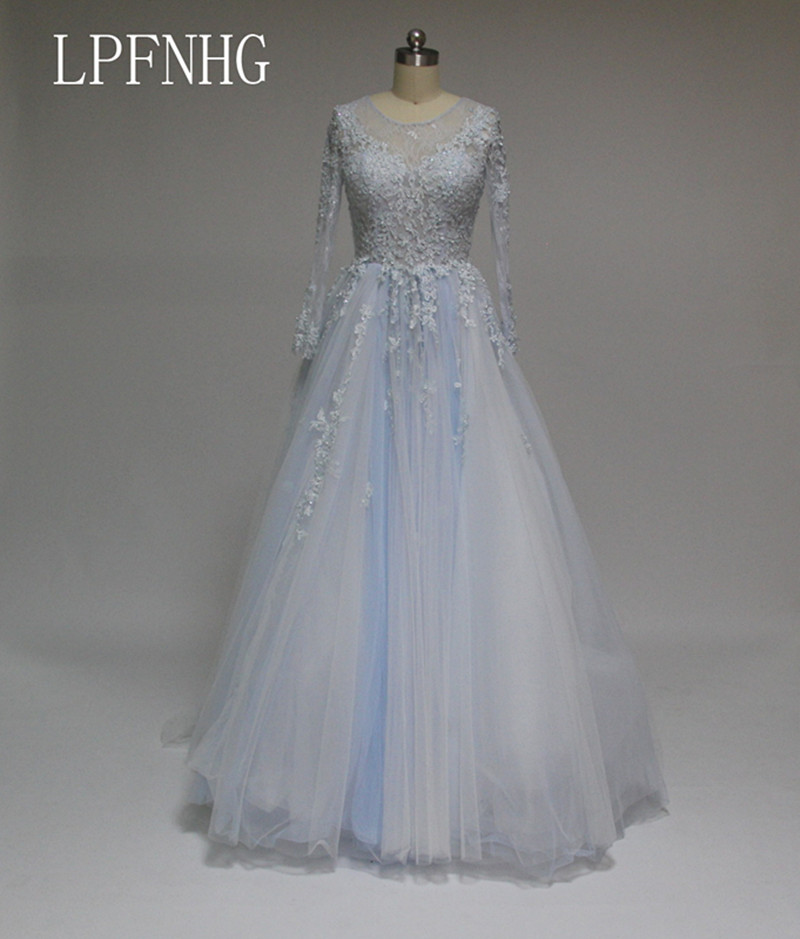 Online Buy Wholesale Blue Wedding Dress From China Blue Wedding