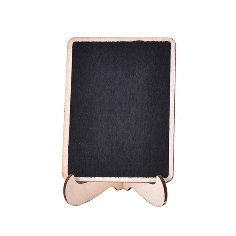 Mini Wooden Blackboard Message Board With Stand Small ...