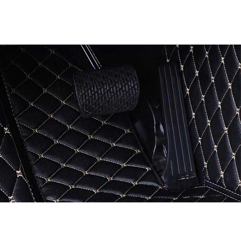 Tapis de sol en cuir pour voiture Flash pour Renault Duster 2013 2014 2015 2016 2017 2018 - 5