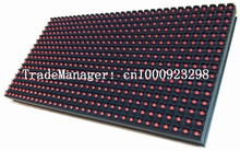 P10 Outdoor Single Red Color Led Display Module