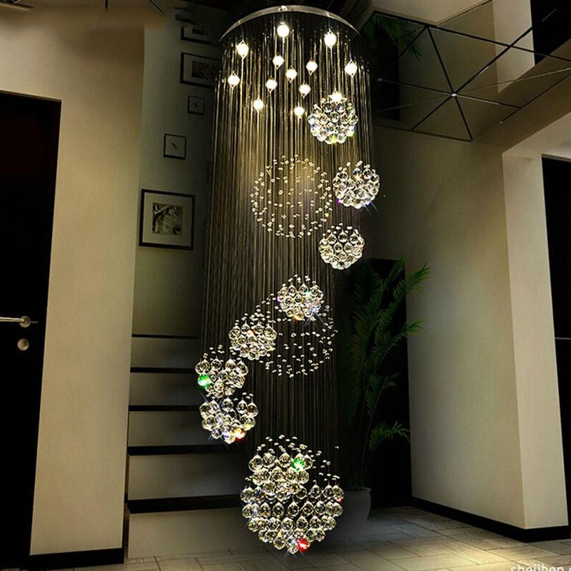 Image 5 - 2018 HOT selling New Modern K9 LED Crystal Chandelier Crystal Lamp 100% Guarantee 110v 240v-in Chandeliers from Lights & Lighting