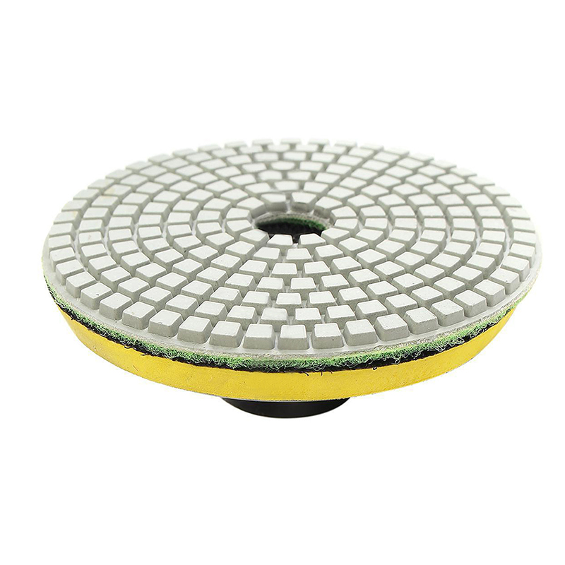 3 Inch Diamond Polishing Pads Stone Polishing Kit Granite Concrete Wet Polisher