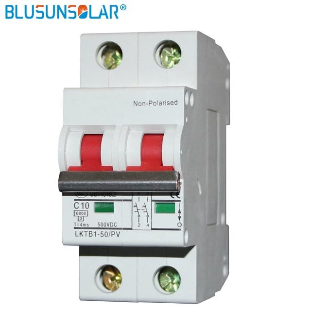 Aliexpress.com : Buy 1 piece/lot 2P 500V 63A DC circuit Breaker MCB on