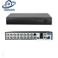SSICON 5 IN 1 Hybrid 16 Channel 1080P AHD CCTV DVR Recorder H 264 VGA HDMI