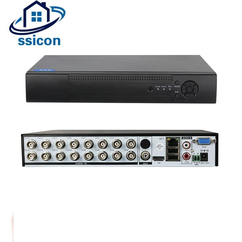 SSICON 5 EN 1 Hybride 16 Canaux 1080 p AHD CCTV Enregistreur DVR H.264 HDMI VGA Enregistreur Vidéo Pour AHD CVI TVI CVBS Caméra IP