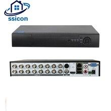 SSICON 5 в 1 Гибридный 16-канальный 1080 P AHD CCTV DVR Регистраторы H.264 VGA HDMI видео Регистраторы для AHD CVI TVI CVBS IP Камера