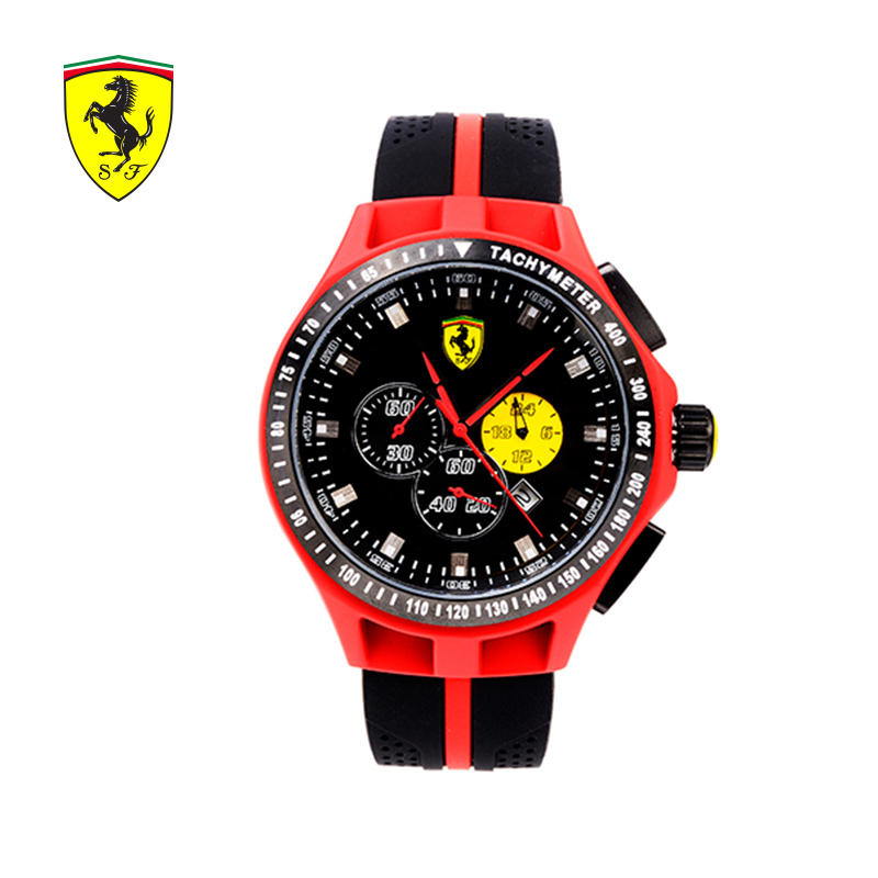2018 Ferrari Casual Fashion watch sports men's watch Waterproof Quartz men's watch