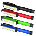 High Quality Aluminum LED COB  Pen Pocket Torch Lamp Light Magnetic Inspection Work Lamp