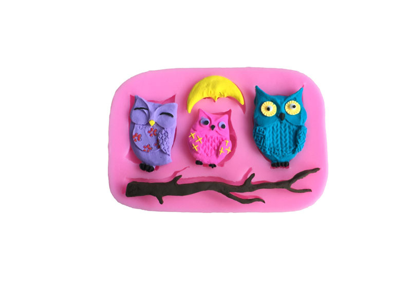 Owl Chocolate Candy Molds Bing Images