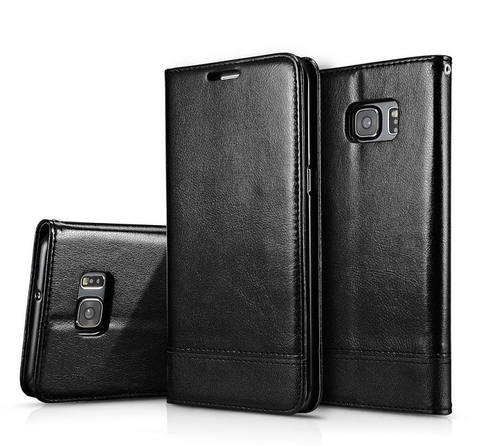 With Lanyard Stitching Leather Wallet Card Flip Cover for Samsung Galaxy NOTE 9 8 S8 S9