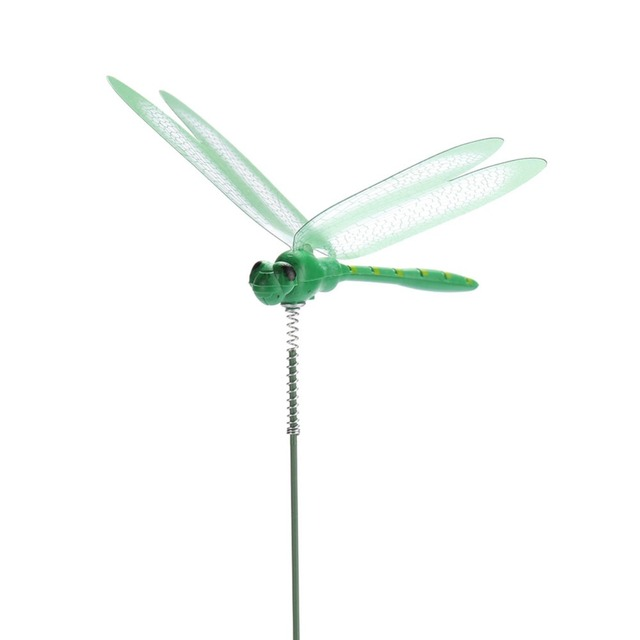 Colorful Garden Decorative Dragonfly Stakes Set