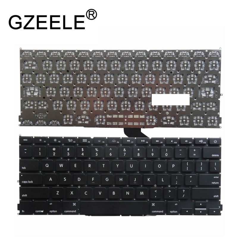 GZEELE New 13 FOR MacBook Pro Retina A1425 US Black KeyboardGZEELE New 13 FOR MacBook Pro Retina A1425 US Black Keyboard