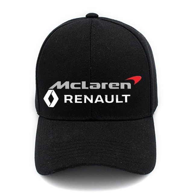 48751ccdb Casual Cotton McLaren Renault Baseball Cap Behind A Magic Sticker And Can  Be Properly Adjusted In Size(unisex)