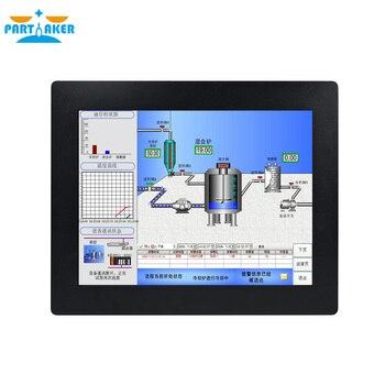 Z14 Fanless Embedded 15 inch Touch Screen Barebone All In One Intel Celeron J1800 Processor Industrial Panel PC 4G RAM 64G SSD