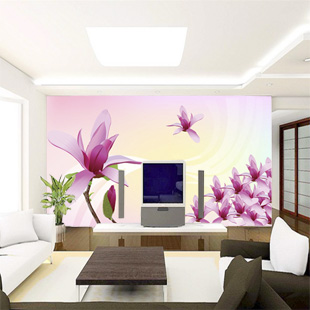 Custom large mural wall painting the living room sofa bedroom TV background 3D wallpaper 3D wallpaper magnolia