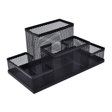 Office Mesh Metal Desk Organizer