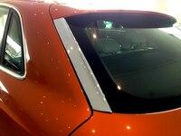 2pcs ABS Auto Car Rear Window Trim For Audi Q3 2012 2015
