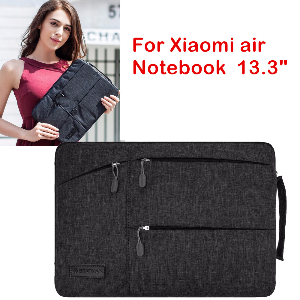 Laptop Pouch Case For Xiaomi Mi Notebook Air 13.3 Inch Fashion Sleeve Bag Creative Handbag Protective Skin Cover Stylus Gift pu leather case cover for 12 9 inch laptop bag notebook protective sleeve stylus with wireless bluetooth keyboard as gift