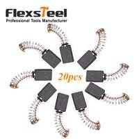 Flexsteel Power Tool Part Accessori 20 Pezzi Generic Motore Elettrico Spazzola di Carbone 12 MILLIMETRI x 5MM x 8 MILLIMETRI