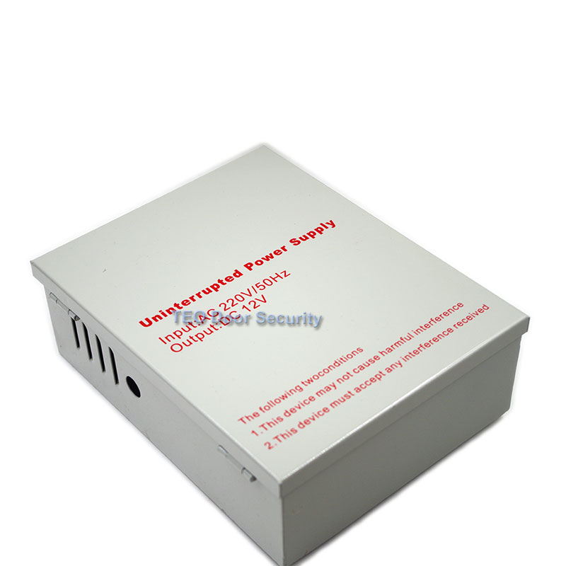 DC 12V 5A Uninterruptible Access Power Supply With Battery Backup Using Access Control System UPS Power Supply AC 220V