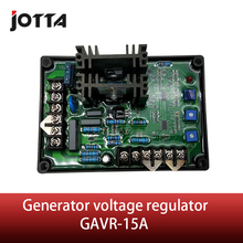 Generator voltage regulator GAVR-15 AVR automatic excitation control panel three phase brush generator excitation regulator plate regulator in tune avr 170