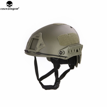 Emerson Fast Helmet AF Style Tactical w shroud Protective Airsoft Outdoor Sports Wargame CS Lightweight