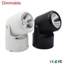 10 Вт 20 Вт супер яркий точечный свет 360 градусов вращение Регулируемый потолочный светильник поверхность светодиодный точечный свет AC85-265V светодиодный потолочный светильник