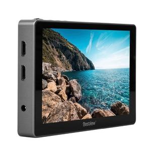 """Image 2 - Melhor visão r7 7 """"7 polegada display 4k hdmi, monitor lcd controle de toque tela de monitor no campo da câmera monitor dslr para câmeras de vídeo"""