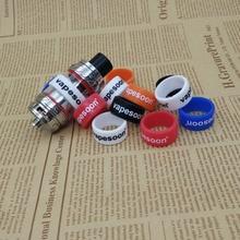 5pcs/lot  vapesoon vape band ring for 20-27mm e cigarette TFV8 TFV12 MELO 300 MELO 3 MINI Atomizer 24*12*2  anti-slip ring