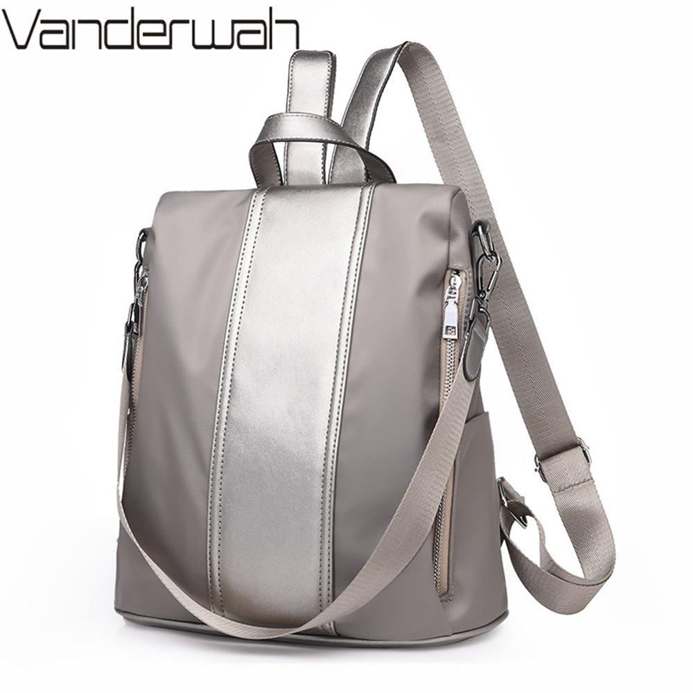 New Double zipper Multifunction Backpack Women backpack for teenager Girls Travel Back pack Student School Bag for girls Mochila все цены