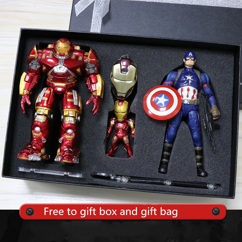 "The Avengers Infinity War 3 Marvel Iron Man Captain America 7/"" Action Figure Toy"