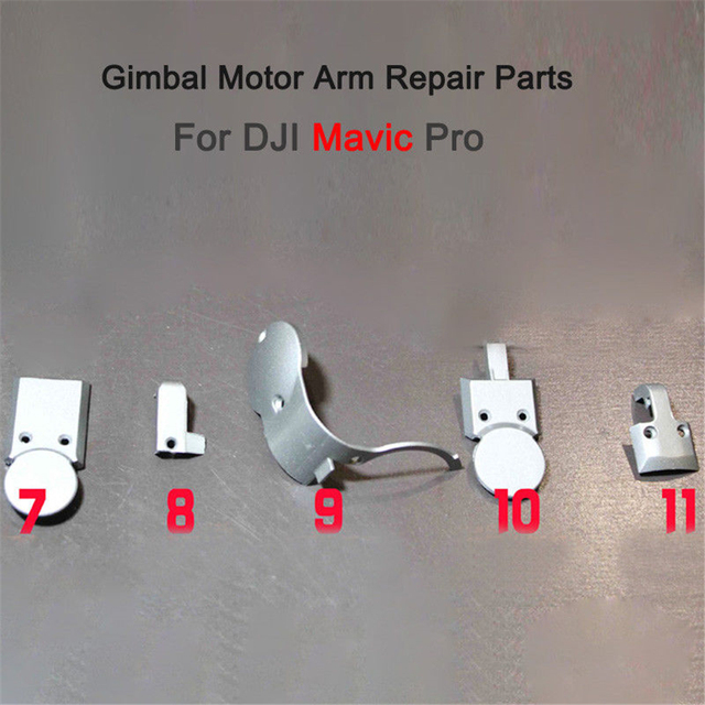 DJI Mavic Pro Drone Gimbal Camera Motor Arm Cover Repair Parts Replacement 5 Models Accessories