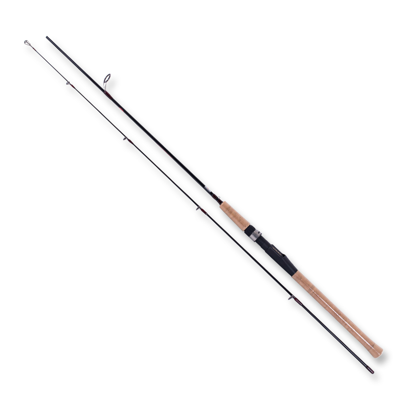 New 2.4/2.7m Spinning Lure Rod 2 Sections Carbon Straight Fishing Rod ML Power Telescopic Fishing Rod Fishing Accessiories