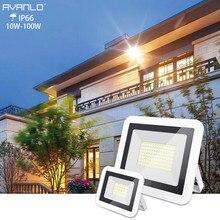 Светодиодный прожектор 50 Вт 110 В 220 В 10 Вт 20 Вт 30 Вт Светодиодный фонарь-Рефлектор светодиодный наружный светильник садовая лампа новейшая