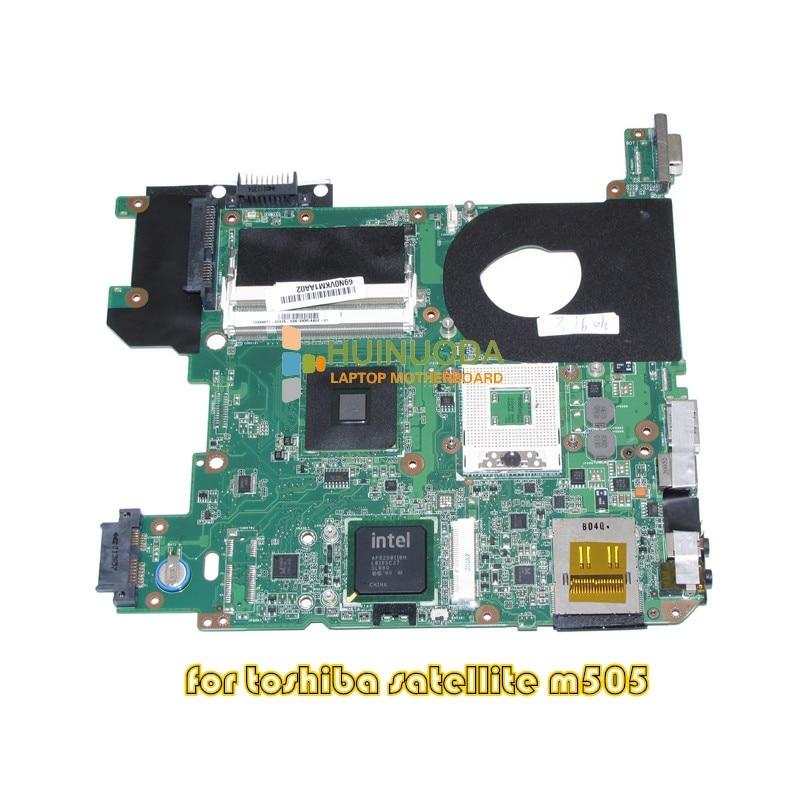 NOKOTION H000013190 PN 08N1-0B23G00 For Toshiba satellite M500 M505 Laptop motherboard GL40 DDR2 nokotion sps v000138830 pn 1310a2264932 for toshiba satellite l300 l305 laptop motherboard 6050a2264901 mb a03 gm45 ddr2
